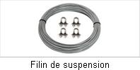 Filin de suspension pour pompe de forage